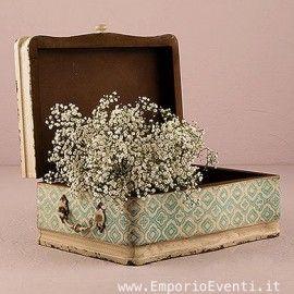 Decorazione matrimonio vintage - valigia