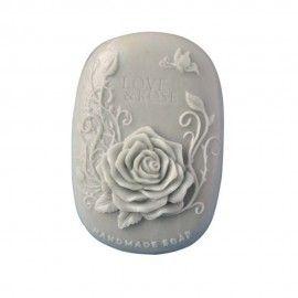 Silikónová forma na mydlo ruža života