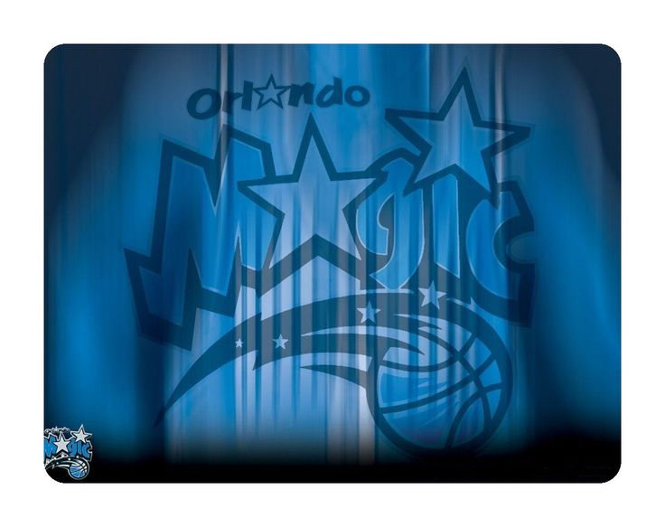 Orlando Magic Basketball Mouse Pad