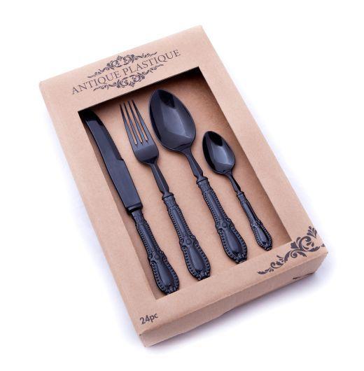 Nicolson Russell Antique Plastique Cutlery Set, Set of 24