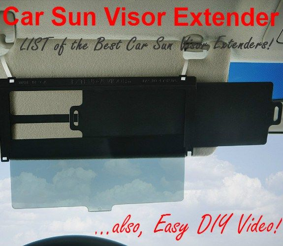 8 Best Car Sun Visor Extenders Images On Pinterest