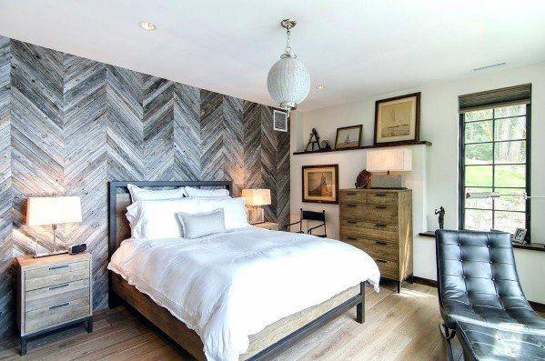 Top 70 Best Wood Wall Ideas Wooden Accent Interiors Bedroom