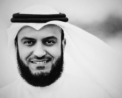 Mishary Alafasy  Best reciter. He is known for his unique recitation of Quran and his beautiful voice, many qaris are impressed by him and try to imitate his beautiful mode of recitation