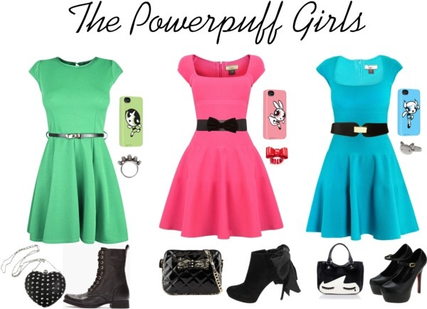 """The Powerpuff Girls"" by kazila on Polyvore"