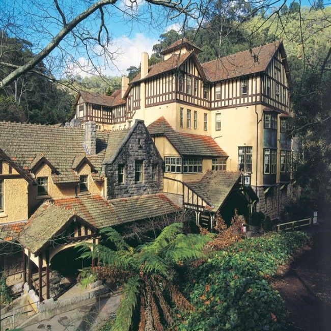 Historic Caves House Jenolan Caves N.S.W Australia..Building Style Federation.