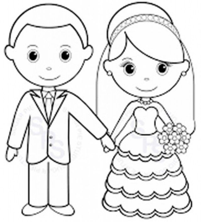Mini Printable Personalized Wedding Coloring Activity Book Etsy In 2020 Wedding Coloring Pages Wedding With Kids Book Favors