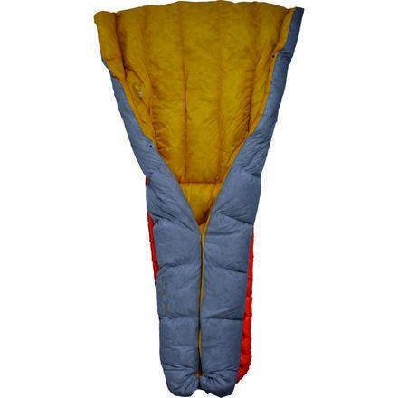 Sea to Summit's Ember EB II Sleeping Bag meets the minimalist standards of ultralight backpackers, alpinists, and touring cyclists. Packed full of 750-fill Ultra-Dry Down insulation and weighing just over a pound, the Ember has a phenomenal warmth-to-weight ratio and stays warm enough to late spring, summer, and early fall backcountry trips.  Sea to Summit treated the Ember's down insulation to resist moisture, remain lofty, and retain its warmth in humid, moist conditions. The quilt&...