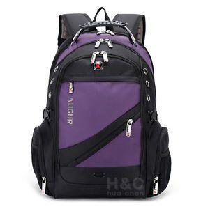 Men-039-s-Travel-Rucksack-Notebook-15-6-034-Laptop-Backpack-Hiking-Swiss-School-Bag