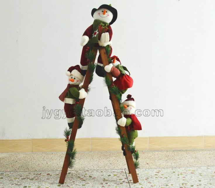 Дешевое Высокого класса 4 снеговик рождество лестница рождественская елка украшения 122 см, Купить Качество Ремесел из текстиля и ткани непосредственно из китайских фирмах-поставщиках:  \ \ \ \  \   \   Стиль номер: K004 Размеры: 122 см мм (48 дюймов)\  \ \  \  \  \  \  \  \  \  \  \