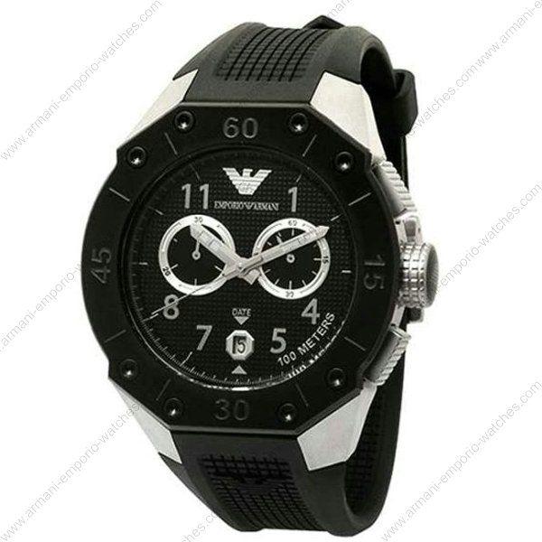 new emporio armani mens black chronograph watch ar0665 watches pinterest. Black Bedroom Furniture Sets. Home Design Ideas