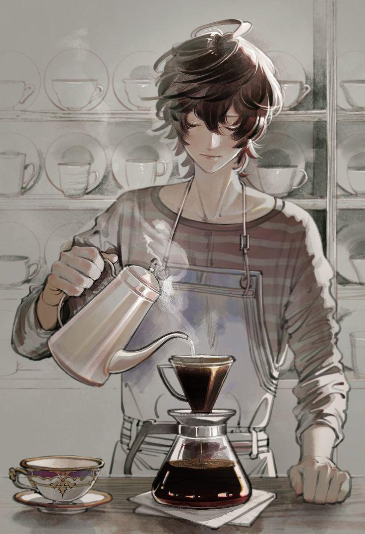Would you like some coffee? Anime, Manga anime, Anime art