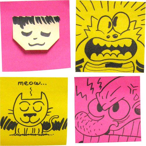 Best Motivational Sticky Notes Images On Pinterest Awesome - Hilarious motivational cat post notes found train