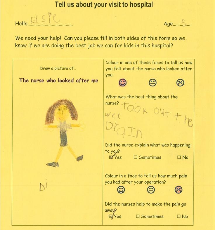 Feedback Form for Kids St Vincentu0027s Private Melbourne Paeds - format for feedback form