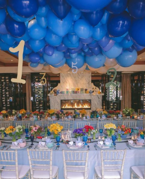 Candy Spelling pulled out all the stops for the party at the Hotel Bel Air