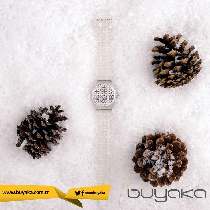 Buyaka Swatch'ta yeni sezonda, #SwatchApresSki kreasyonundan, buz deseni ile buzun havalı ve klas duruşunu kolunuzda taşıyın. :) #Buyaka #Swatch #SwatchApresSki #Saat #BuyakaBiBaşka