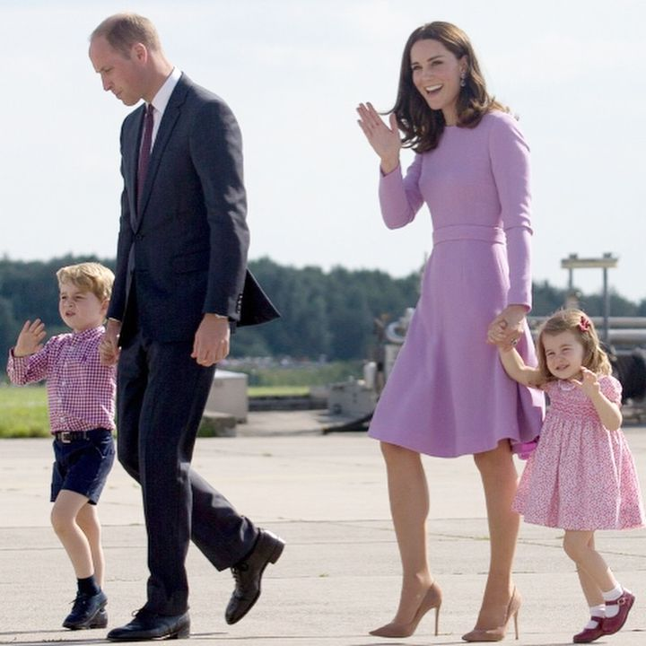 The Cambridges head home at the end of their visit to Poland & Germany in time for Prince George's 4th birthday.
