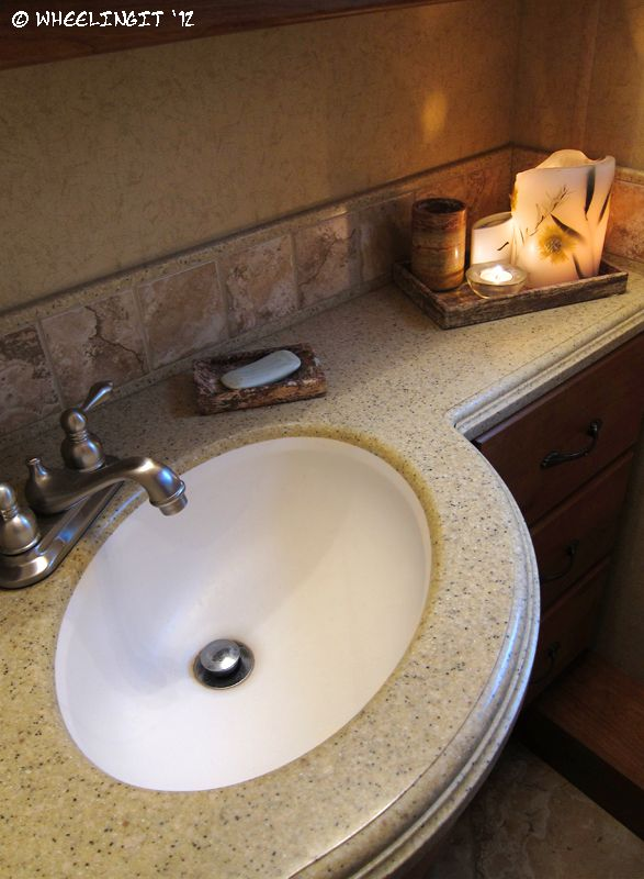 196 best images about rv motorhome ideas on pinterest for Travel trailer bathroom sinks