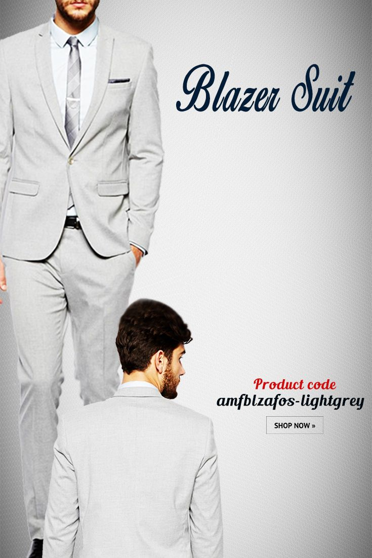 Light Grey Readymade Blazer Suit This elegant #partywear Terry Rayon #BlazerSuit in Light Grey Showcasing minute   Button Work. Synced with Terry rayon trouser pant in Light Grey and Satin shirt in   Off White.  #indowestern #menswear #stylish #fashion #onlineshopping #mensweddingwear #onlineweddingwear #groomswear #discount #buyonline #latestcollection #blazer  #designerblazer #thechoiceisyours