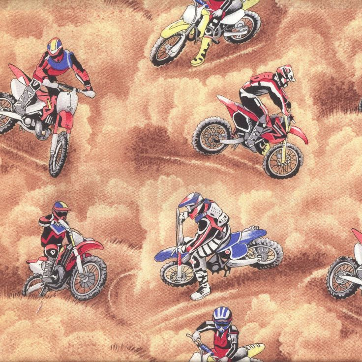 1000+ images about Motorcycles Motorbikes Motocross Fabric ...