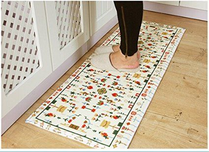 AmazonSmile: Ustide 3-Piece Fish Kitchen Rugs Washable Bathroom Washable Rugs Modern Rug Pad Kids Rug Runners Bathroom Rug Sets Coral Fleece Small Rugs: Kitchen & Dining
