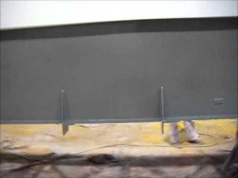 verniciatura carpenteria metallica - YouTube