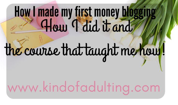 Kind of Adulting affiliate marketing blogging