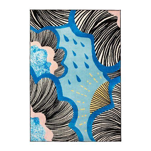 IKEA - DOFTRANKA, Tapis, poils ras, Le velours épais atténue les bruits et crée une surface douce sous les pieds.Ce tapis en fibres synthétiques est résistant, anti-tache et facile d'entretien.