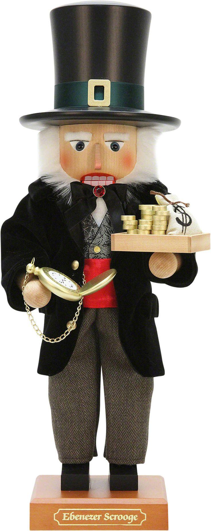 Nutcracker Ebenezer Scrooge, limited - 51,5cm / 20.3inch