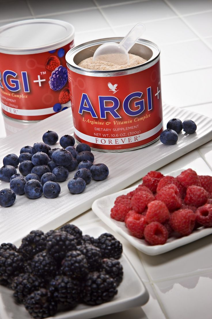 ARGI+™ provides 5 grams of L-Arginine per serving plus synergistic vitamins to give your body the boost it needs to keep going all day long.