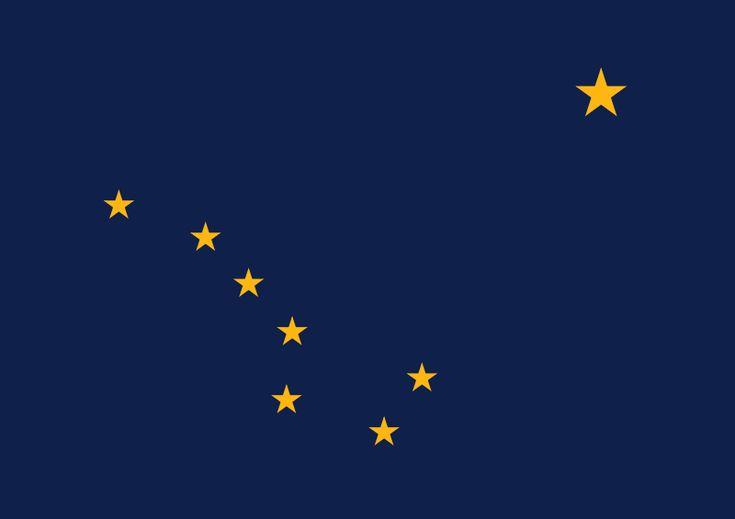 ファイル:Flag of Alaska.svg
