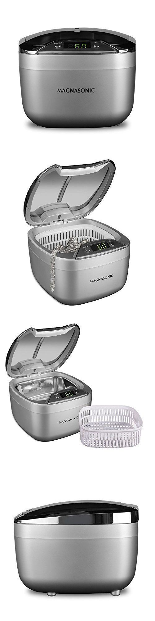 Jewelry Cleaners and Polish 67720: Ultrasonic Jewelry Cleaner Machine Professional Cleaning Digital Timer Large BUY IT NOW ONLY: $67.5