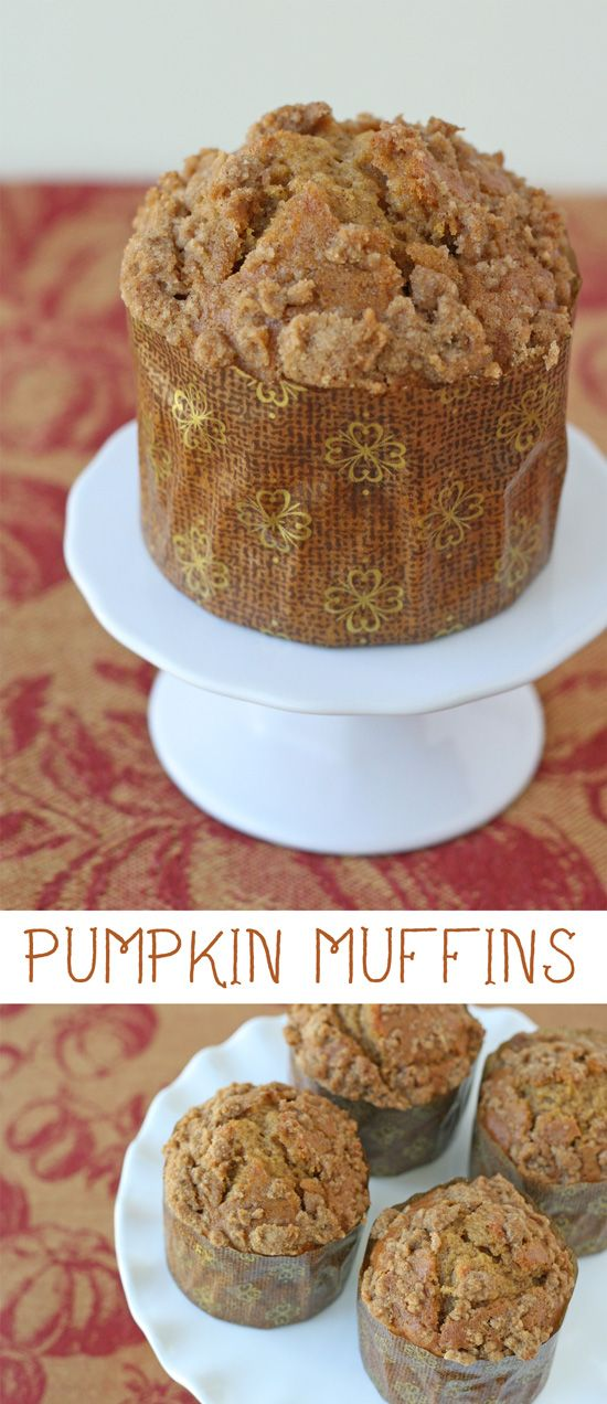 This delicious Pumpkin Muffin recipe is perfect for fall!