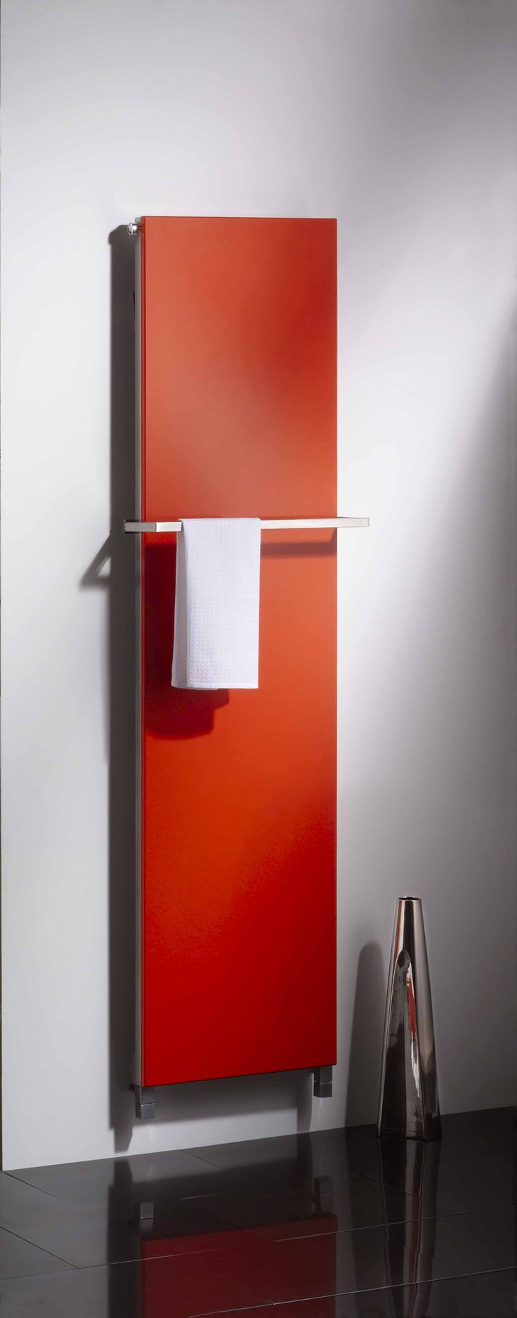 To celebrate Archiproducts focus on 'Orange Products' we thought we'd feature one of our orange radiators. This one is ideal for kitchens & hallways and can be finished in granite or quartz fascias... © Aestus