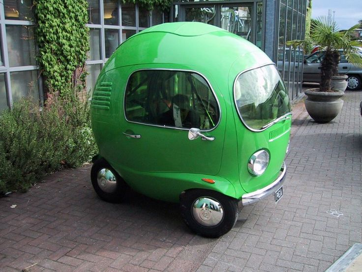 VW Pea- omg effin looove this!!Richard Scarry, Funny Pics, Future Car, Smart Cars, Vw Bus, Funny Stuff, Green Cars, Peas, Smartcar