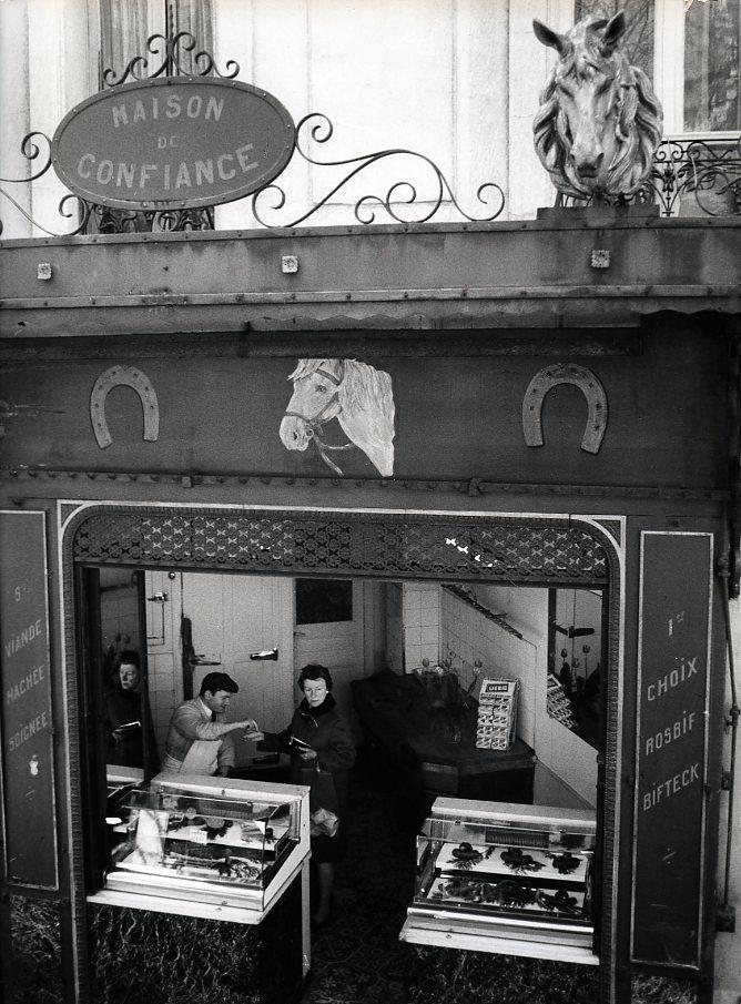 Atelier Robert Doisneau   Galeries virtuelles des photographies de Doisneau - Commerces et commerçants