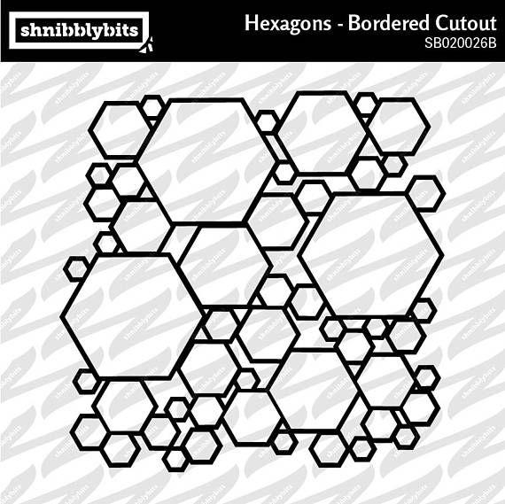 Hexagon Bordered Cutout