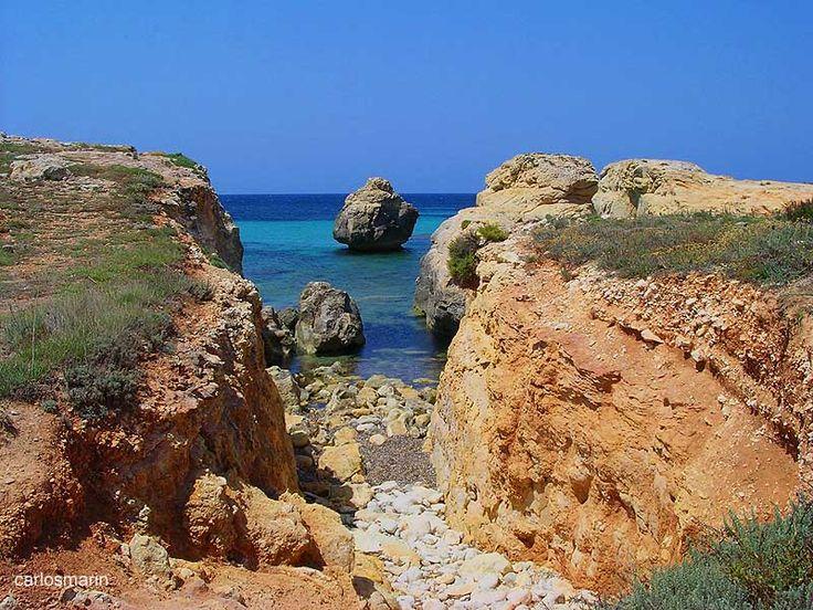 south coast of Minorca - Es Migjorn Gran, Menorca