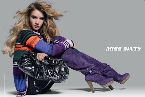 Miss Sixty purple boots
