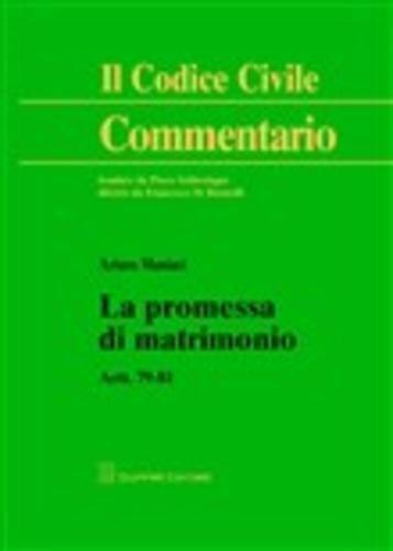 #La promessa di matrimonio. artt. 79-81 maniaci  ad Euro 21.25 in #Giuffre #Media libri scienze sociali