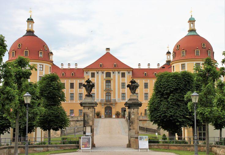 Moritzburg Castle, near Dresden, Germany.