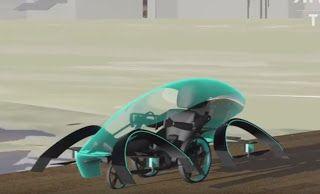 Pregopontocom Tudo: Carro voador com apoio da Toyota faz faz demonstração de voo ...