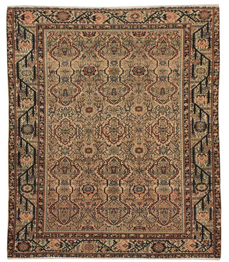 Cod. 3625 Lilian antico 185x154 tappeto persiano antique rug