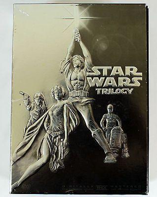 Star Wars Trilogy DVD 4 Disc Set IV, V, VI  New Hope, Empire Strikes Back, Jedi