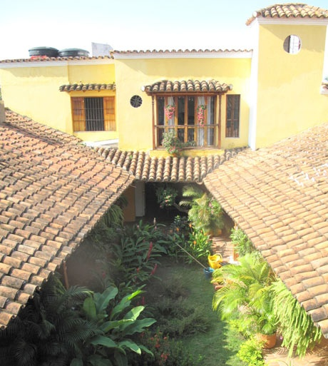 La Casa Amarilla is a restored mansion by the river in the centre of town #mompox #colombia #travel