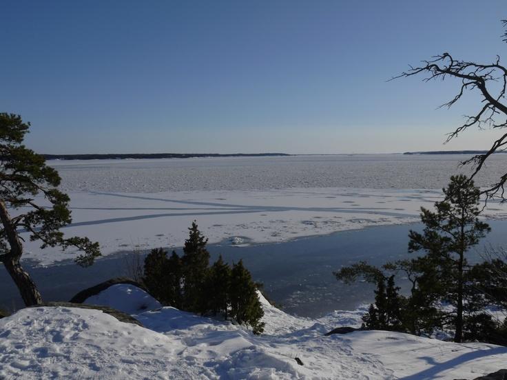 Ruissalo, Turku, Finland #winter #sunshine