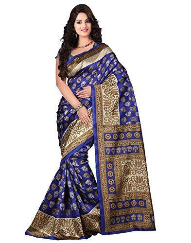 Trendz Bhagalpuri Cotton Silk Saree(TZ_Kasturi_Blue) Check more at http://www.indian-shopping.in/product/trendz-bhagalpuri-cotton-silk-sareetz_kasturi_blue/