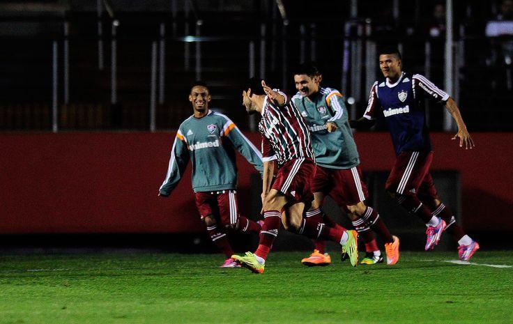 Sob comando de Fred, Fluminense derrota o São Paulo no Morumbi #globoesporte