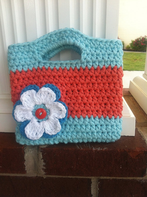 Crochet Toddler Purse