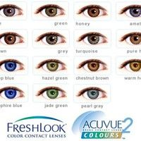 FreshLook ColorBlends Circle Lenses Colored Contacts Cosmetic Color Circle Lens | EyeCandy's