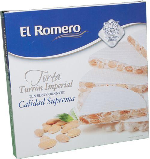 Torta Imperial con Edulcorante EL ROMERO Calidad Suprema 200 g x 12 unidades